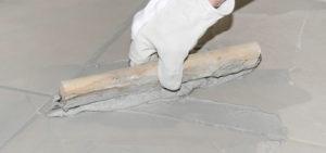 regrouting floor tiles