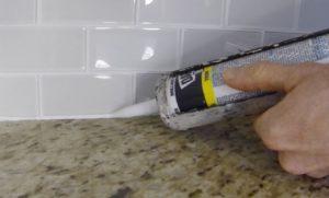 silicone tile repair